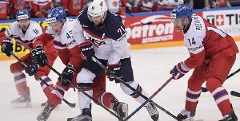 Прогноз на хоккей, ЧМ-2018, США-Чехия, 17.05.2018. Сдержат ли чехи молниеносных американцев?