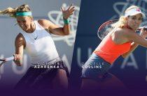 Прогноз на теннис, Акапулько-2019, Азаренко – Коллинз, 26.02.19. Сможет ли сходящая звезда справиться с восходящей противницей?