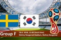 Прогноз на футбол, ЧМ-2018. Швеция-Корея, 18.06.18. Сумеют ли корейцы повторить успех, достигнутый некогда в домашних стенах?