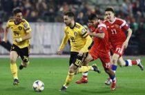 Профессиональный прогноз на футбол, Лига Наций, Бельгия – Дания, 17.11.2020