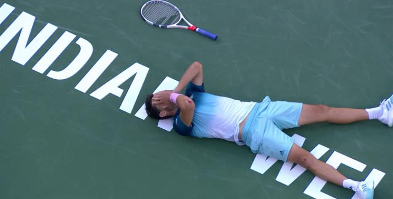 Теннисные соревнования останавливаются