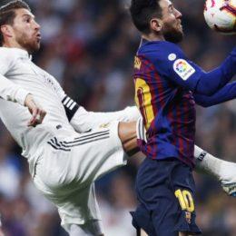 Барселона и Реал Мадрид были отвлечены протестами от футбола и поэтому скатали сухую ничью