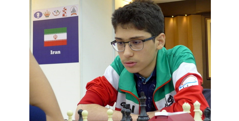 Юный иранский шахматист Алирез Фирузья борется не только с соперниками, но и с запретами