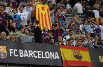 Десятки людей пострадали при столкновениях протестующих за независимость Каталонии с полицией на матче в Барселоне