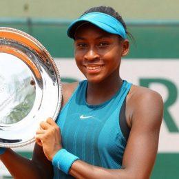 Коко Гауфф обыграла Елену Остапенко, и смогла завоевать первый титул WTA в возрасте 15-ти лет