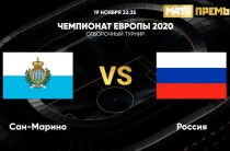 Прогноз на футбол, Сан-Марино – Россия, отбор на ЕВРО-2020, 19.11.2019. Оторвётся ли Дзюба на беззащитных островитянах?