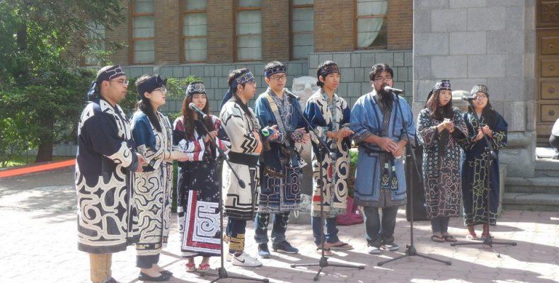 Танец коренных жителей Японии снят с церемонии открытия Олимпиады в Токио