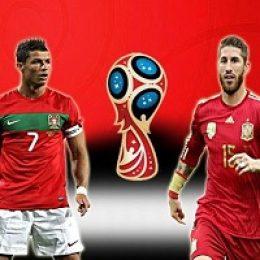 Прогноз на футбол, ЧМ-2018. Португалия-Испания, 15.06.18. Оправдает ли ожидания самый принципиальный поединок первого круга?