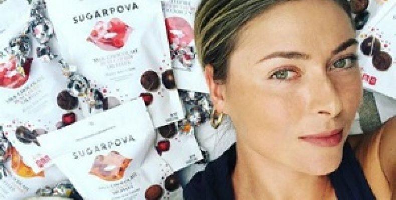 Маша Шарапова изобрела новый сорт конфет. И первая их попробовала