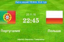 Прогноз на футбол, Лига Наций-2018, Португалия – Польша, 20.11.18. Смогут ли красно-белые остановить шествие португальцев?