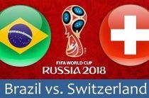 Прогноз на футбол, ЧМ-2018. Бразилия-Швейцария, 17.06.18. Сумеют ли хотя бы бразильцы справиться с европейской диктатурой?