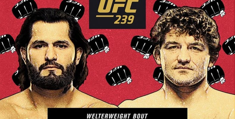 UFC 239. Бен Аскрен против Хорхе Масвидаля. Прогноз на поединок